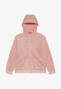 Nike Sportswear - JACKET SHERPA - Lehká bunda - bleached coral - 2