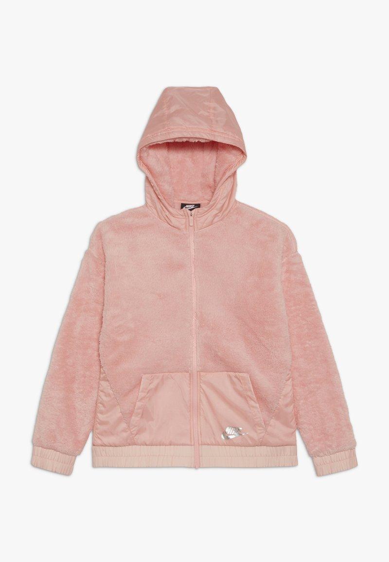 Nike Sportswear - JACKET SHERPA - Lehká bunda - bleached coral