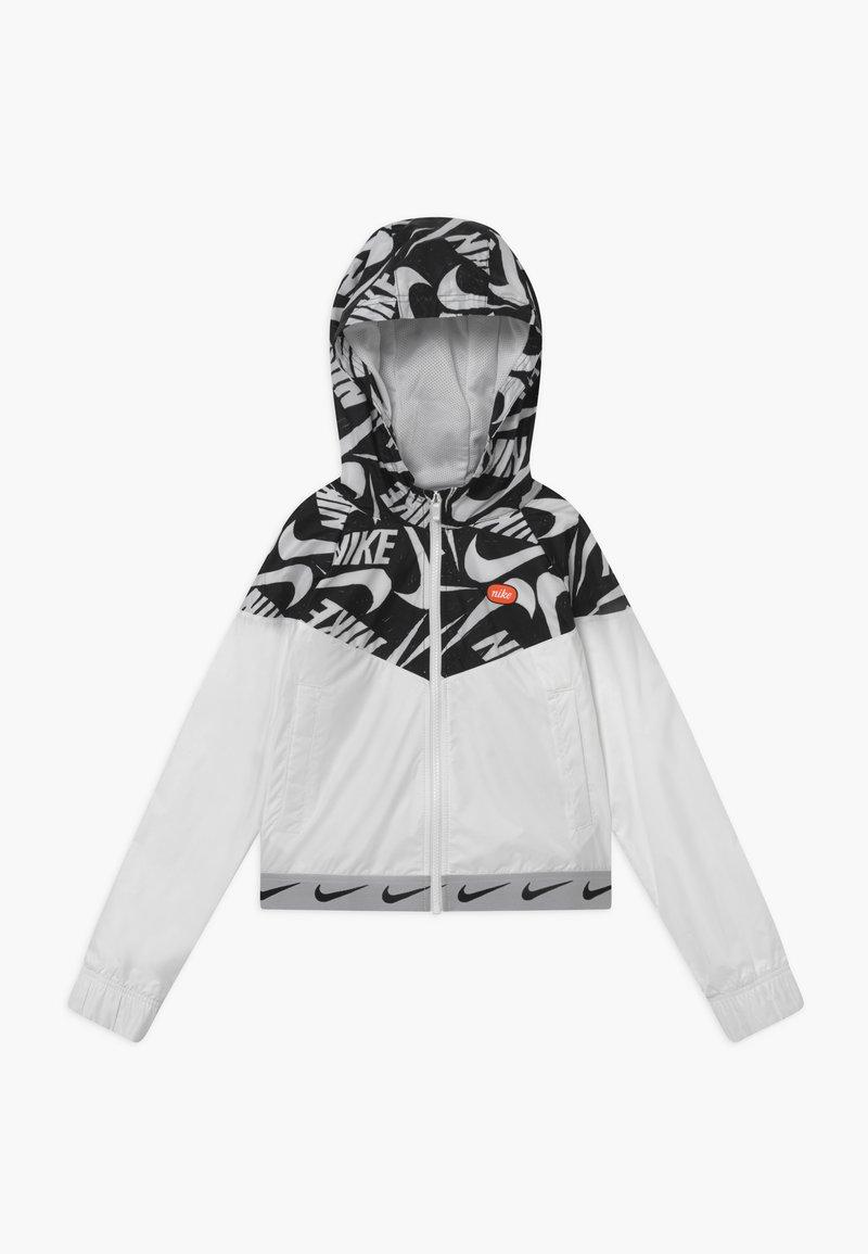 Nike Sportswear - G NSW WR JACKET JDIY - Giacca da mezza stagione - white/black