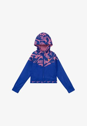 G NSW WR JACKET JDIY - Lehká bunda - hyper blue/magic flamingo