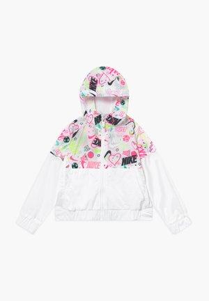 SCRIBBLE - Light jacket - white