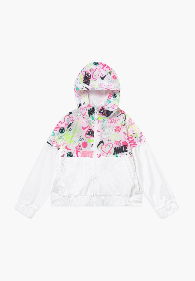 Nike Sportswear - SCRIBBLE - Välikausitakki - white