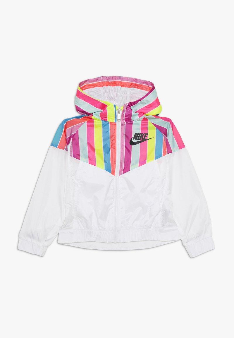 Nike Sportswear - STRIPE WINDRUNNER - Giacca da mezza stagione - white