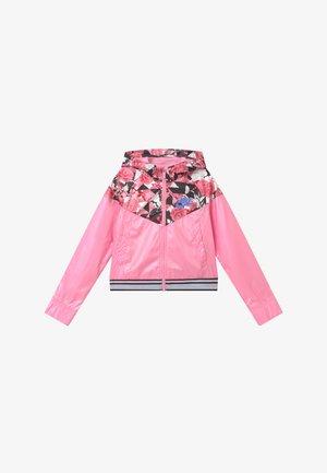 WINDRUNNER - Sportovní bunda - pink/royal pulse