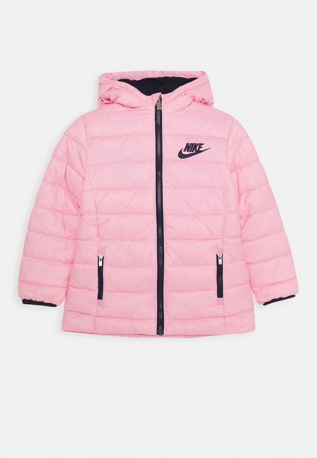 GIRLS MID WAIST STADIUM  - Płaszcz zimowy - pink/obsidian