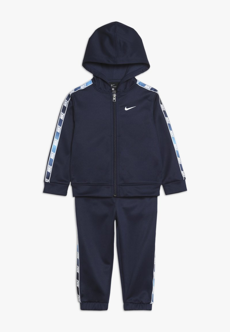 Nike Sportswear - GRADIENT TAPING THERMA BABY SET - Sweatjacke - midnight navy