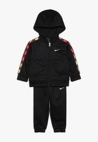 Nike Sportswear - GRADIENT TAPING THERMA BABY SET - Tepláková souprava - black - 0