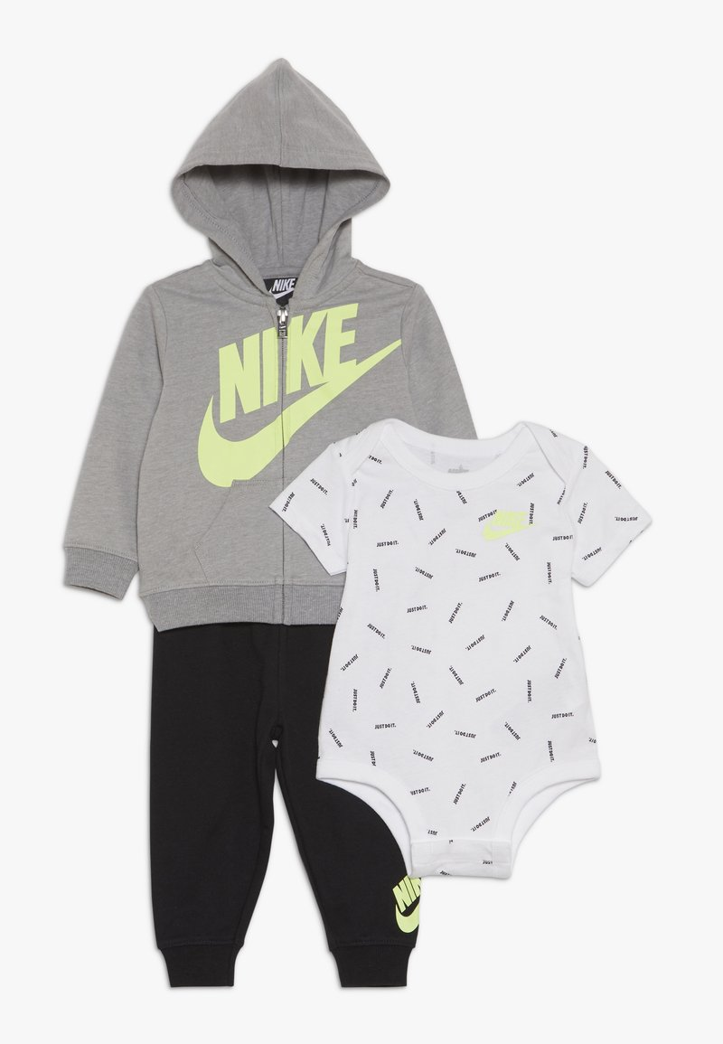 Nike Sportswear - TOSS PANT BABY SET - Body - black