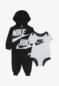 Nike Sportswear - SPLIT FUTURA PANT BABY SET - Body - black heather - 5