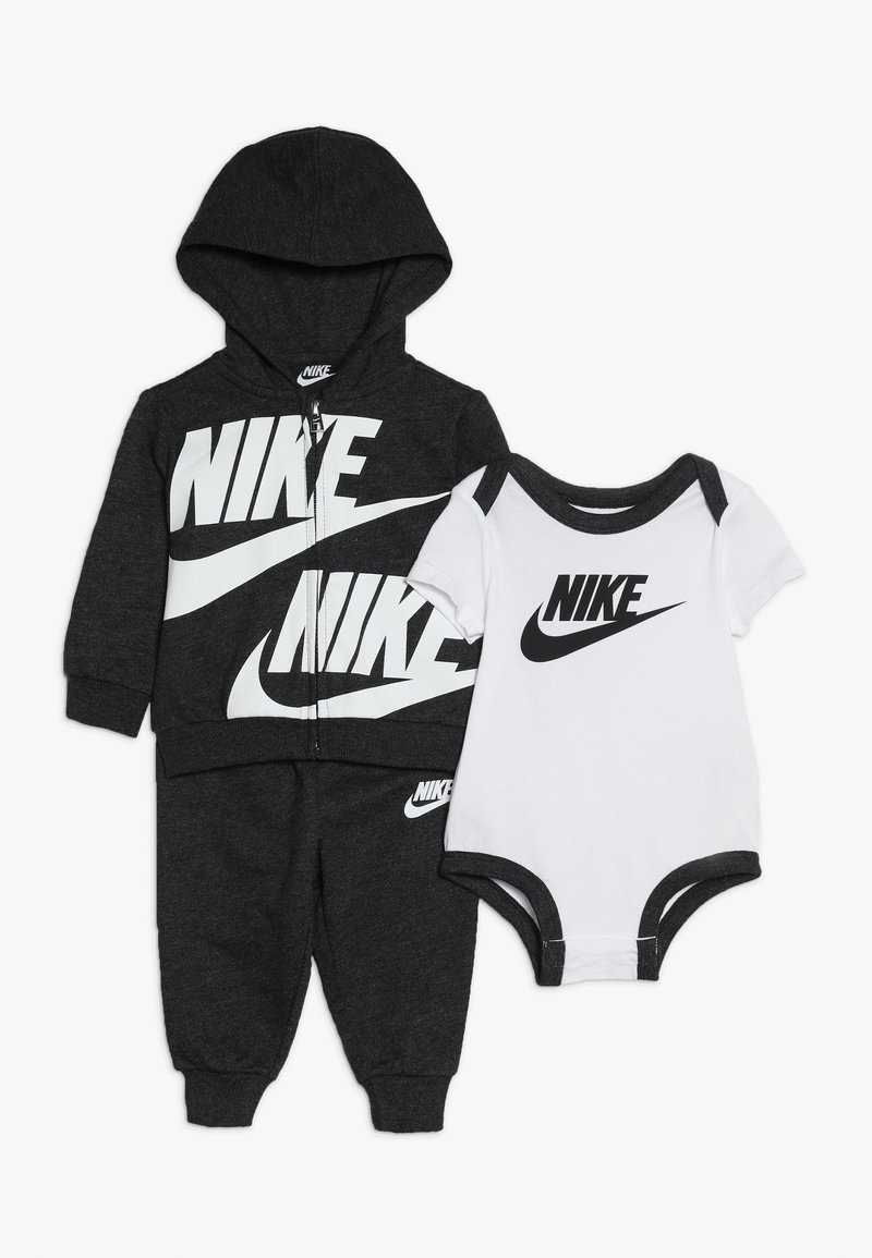 Nike Sportswear - SPLIT FUTURA PANT BABY SET - Body - black heather
