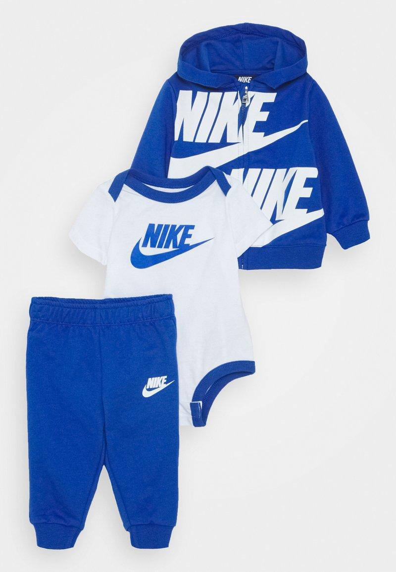 Nike Sportswear - SPLIT FUTURA PANT BABY SET - Body - game royal