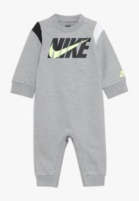 Nike Sportswear - COLORBLOCKED COVERALL BABY - Potkupuku - dark grey heather - 0