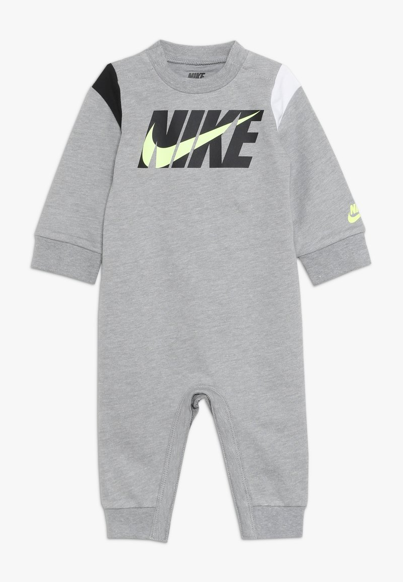 Nike Sportswear - COLORBLOCKED COVERALL BABY - Jumpsuit - dark grey heather