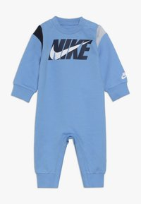 Nike Sportswear - COLORBLOCKED COVERALL BABY - Grenouillère - university blue - 0