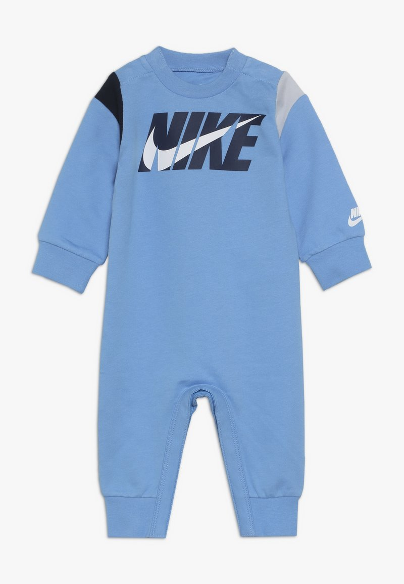 Nike Sportswear - COLORBLOCKED COVERALL BABY - Grenouillère - university blue