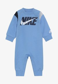 Nike Sportswear - COLORBLOCKED COVERALL BABY - Grenouillère - university blue - 4