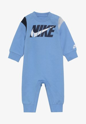 COLORBLOCKED COVERALL BABY - Grenouillère - university blue