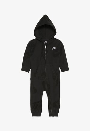FUTURA NOVELTY COVERALL BABY - Śpioszki - black heather