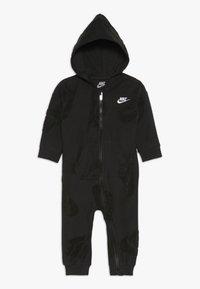 Nike Sportswear - FUTURA NOVELTY COVERALL BABY - Dupačky - black heather - 0