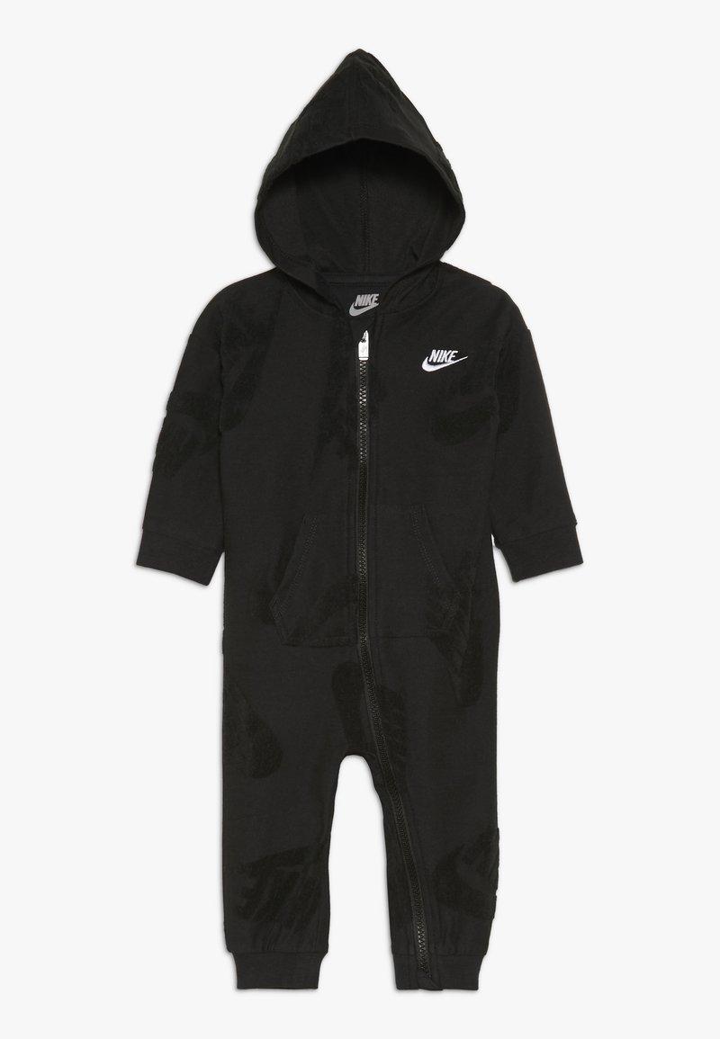 Nike Sportswear - FUTURA NOVELTY COVERALL BABY - Śpioszki - black heather