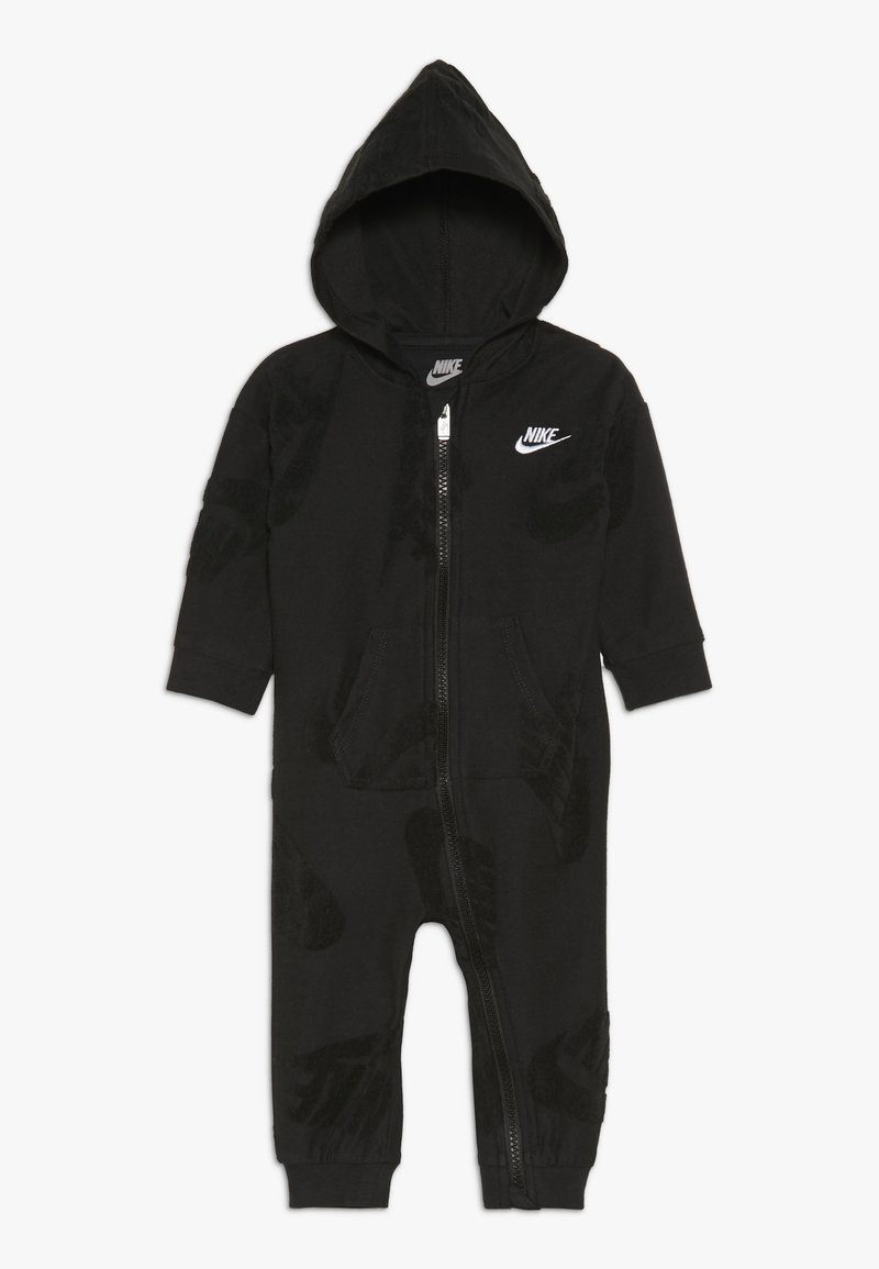 Nike Sportswear - FUTURA NOVELTY COVERALL BABY - Dupačky - black heather