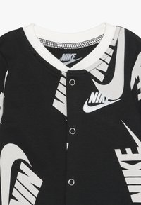 Nike Sportswear - FOOTED COVERALL BIB BABY SET - Potkupuku - black - 2