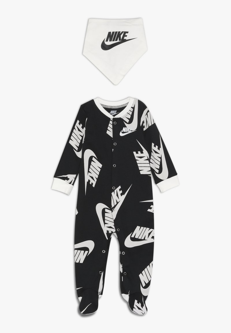 Nike Sportswear - FOOTED COVERALL BIB BABY SET - Overall - black