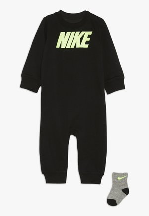 ICON COVERALL BABY SET - Babygrow - black