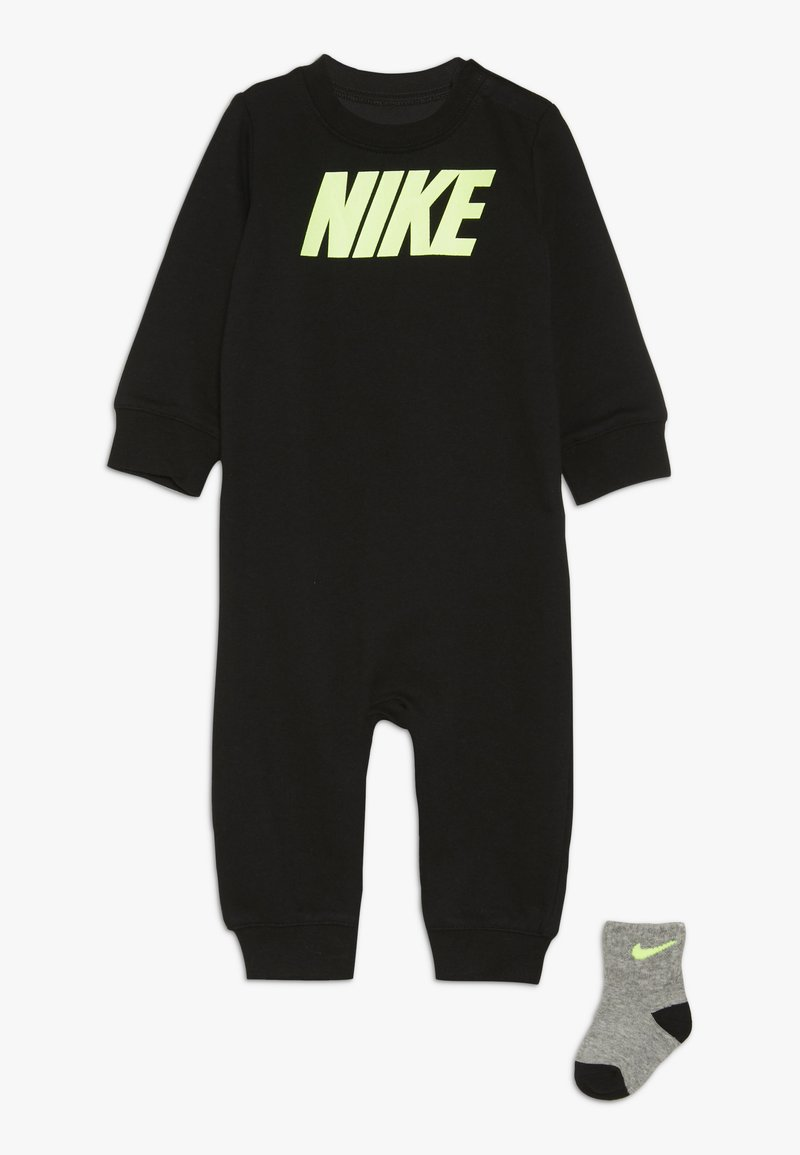 Nike Sportswear - ICON COVERALL BABY SET - Jumpsuit - black