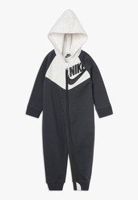 Nike Sportswear - CHEVRON COVERALL BABY - Grenouillère - anthracite - 0