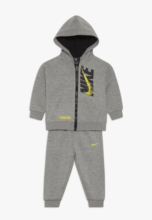 LEBRON PANT SET - Felpa aperta - grey heather