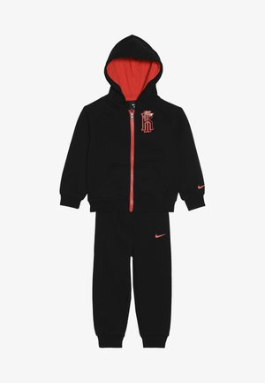KYRIE PANT SET - Zip-up hoodie - black