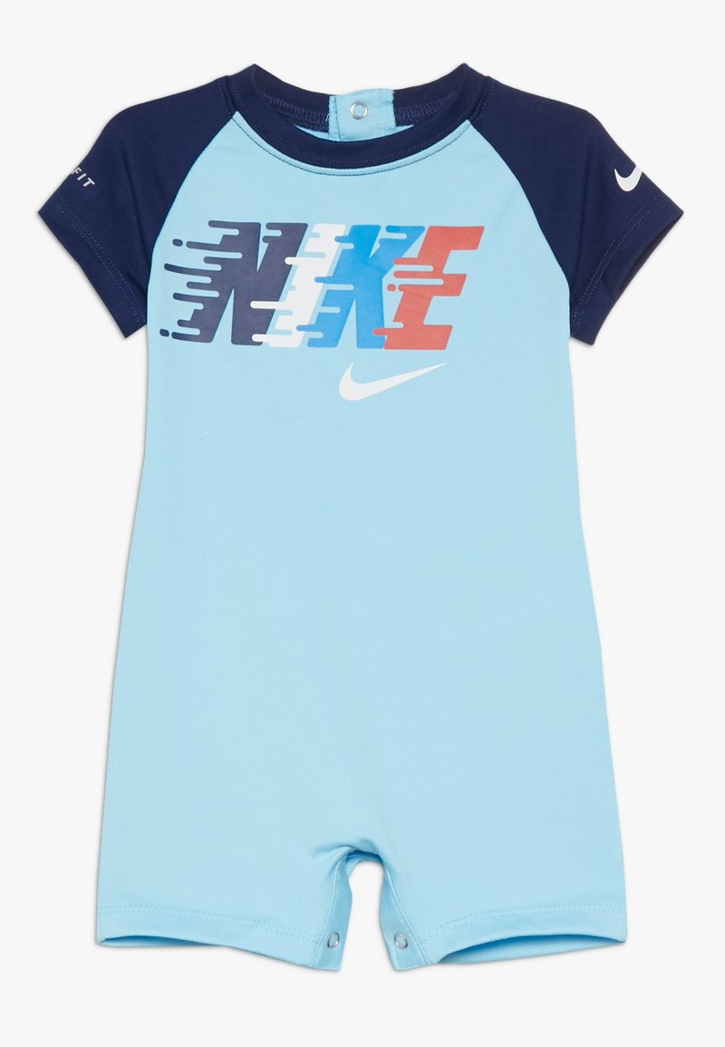 Nike Sportswear - BOYS SPORT ROMPER - Body - blue gaze