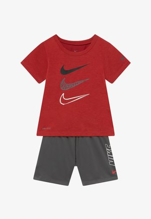 TEE SET - Shorts - iron grey
