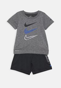 Nike Sportswear - TEE SET - Shorts - black/smoke grey - 0