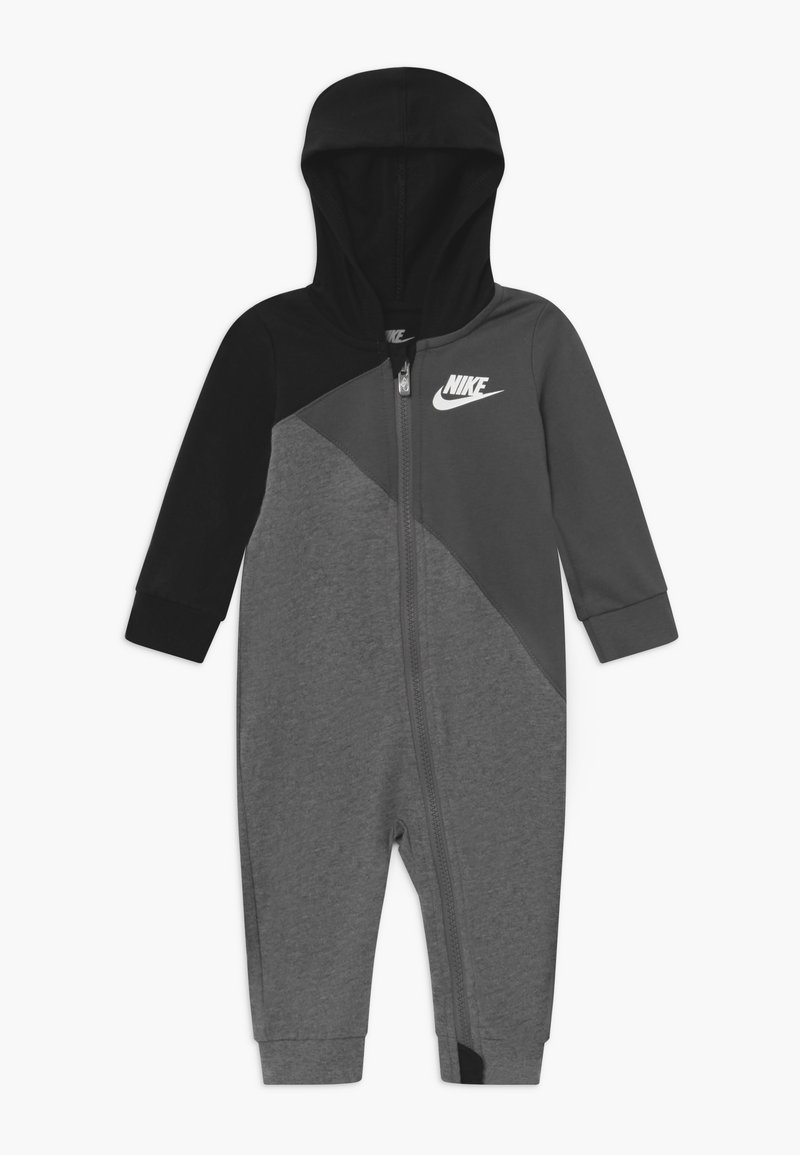 Nike Sportswear - AMPLIFY HOODED COVERALL BABY - Jumpsuit - black