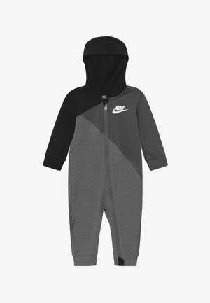 AMPLIFY HOODED COVERALL BABY - Jumpsuit - black