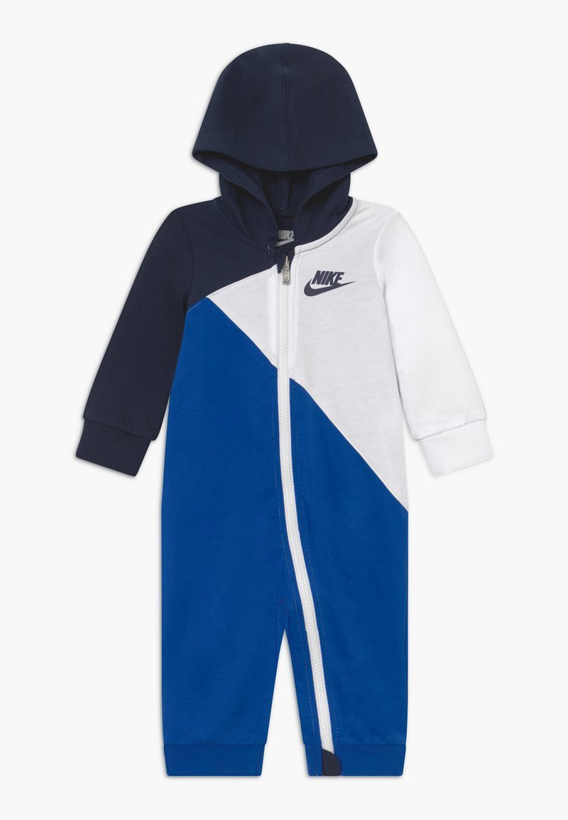 Nike Sportswear - AMPLIFY HOODED COVERALL BABY - Jumpsuit - midnight navy