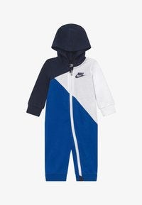 Nike Sportswear - AMPLIFY HOODED COVERALL BABY - Jumpsuit - midnight navy - 2