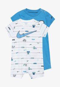 Nike Sportswear - STRIPE ROMPER BABY 2 PACK - Overal - white - 4