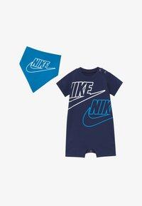 Nike Sportswear - JUMBO FUTURA ROMPER BABY SET  - Jumpsuit - midnight navy - 2