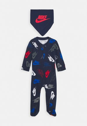 FUTURA TOSS COVERALL SET - Foulard - midnight navy