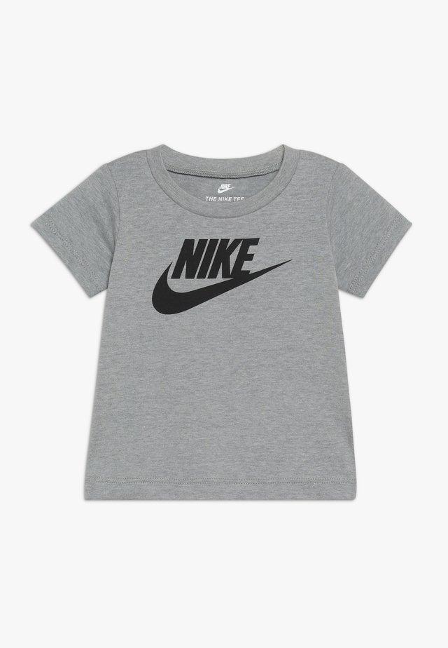 FUTURA TEE BABY - T-shirt med print - dark grey heather