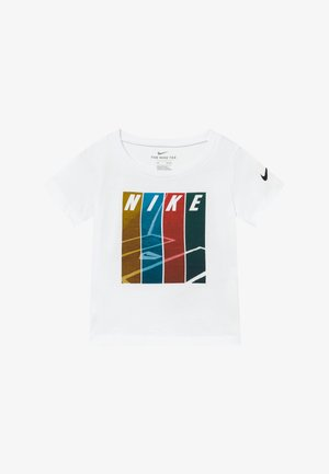 COLORBLOCK TEE BABY - T-shirt print - white