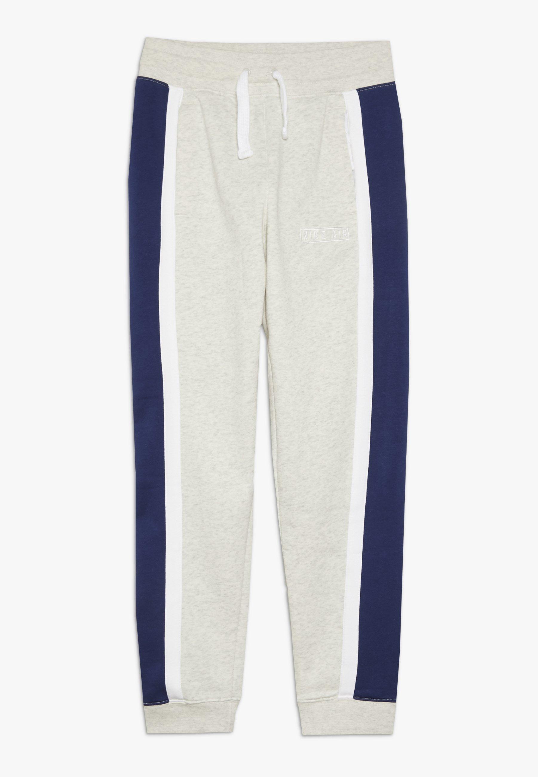 AIR PANT Pantalon de survêtement oatmeal heatherwhiteblack