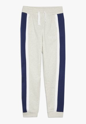 AIR PANT - Træningsbukser - oatmeal heather/white/black