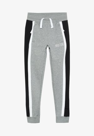AIR PANT - Träningsbyxor - dark grey heather/white/black