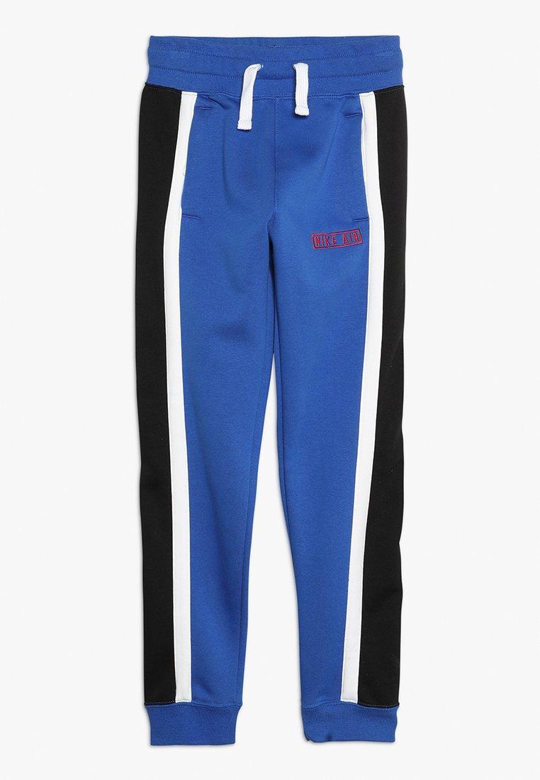 Nike Sportswear - AIR PANT - Trainingsbroek - game royal/white/black/university red