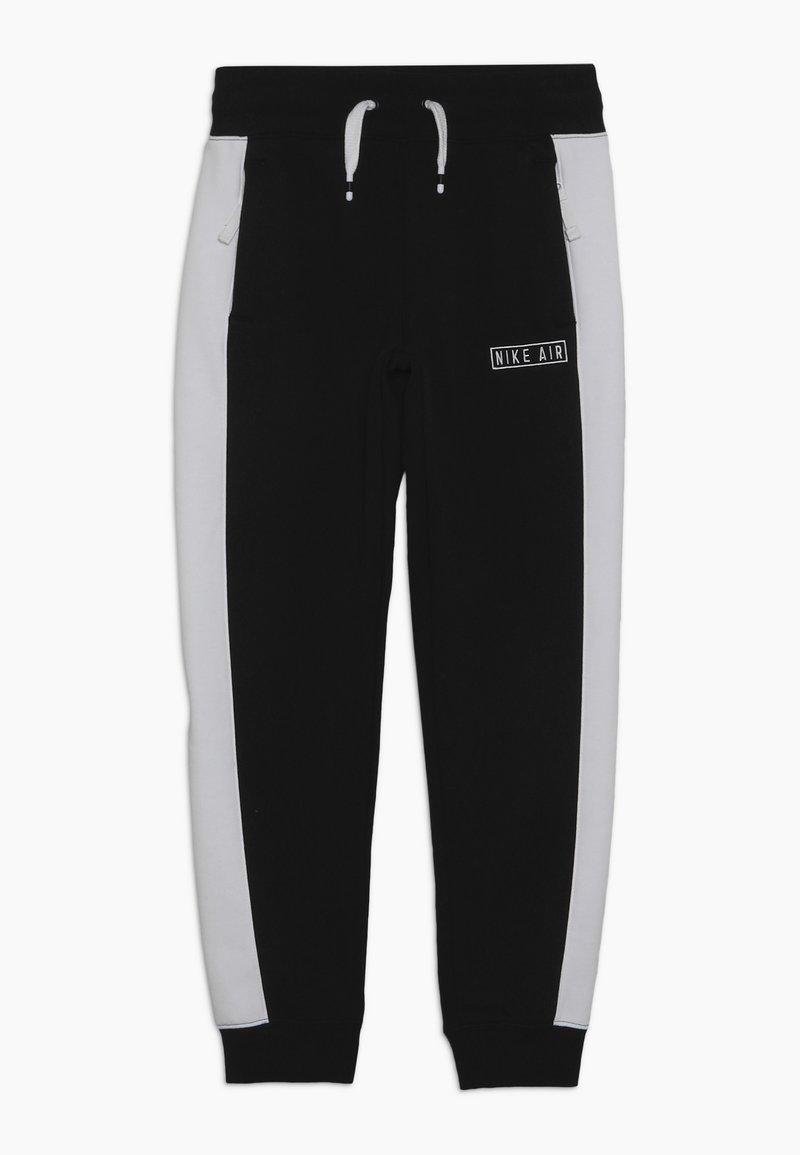Nike Sportswear - AIR PANT - Trainingsbroek - black/white/black