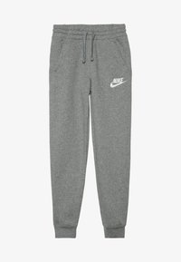 Nike Sportswear - CLUB PANT - Tracksuit bottoms - carbon heather/cool grey/white